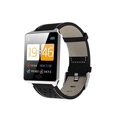 ATYBO Reloj Inteligente con Monitor de Ritmo cardíaco ...