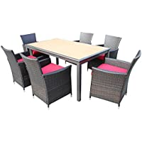 Kontiki 7 Piece Dining Set