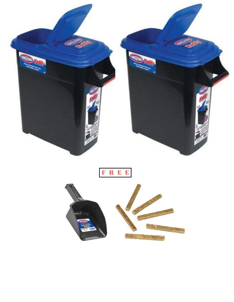 Buddeez Pack of 2 Kingsford Kadddy Charcoal DispenserBuddeez 24 lb, with Free Black