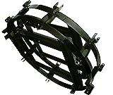400cm (13.5ft) C/Ku-Band Prime Focus Mesh Satellite Dish