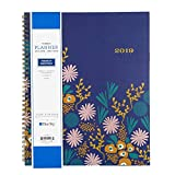 Snow & Graham for Blue Sky 2019 Weekly & Monthly Planner, Flexible Frosted Cover, Twin-Wire Binding, 8.5' x 11', Kukka - 111168