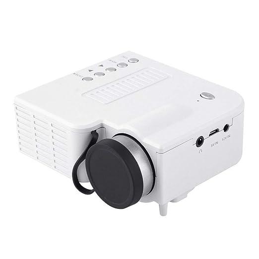 Mini Proyector 1080P Soporte Proyector, 20000 Horas LED Vida ...