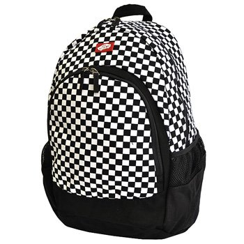 vans rucksack black and white