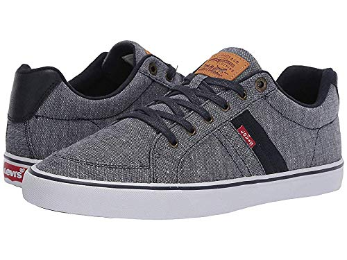 Levi's¿ Shoes Men's Turner Slub Chambray Navy 11 M US