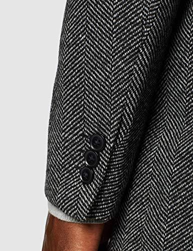 find. Men's Long Wool Mix Overcoat