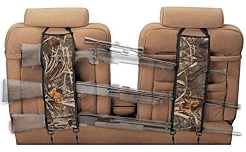 GnG Seat Back Gun Rack, sling pair storage organizer for 3 guns, rifles, shotguns in Cars, Trucks & SUV, Camouflage Car storage for Hunting sports