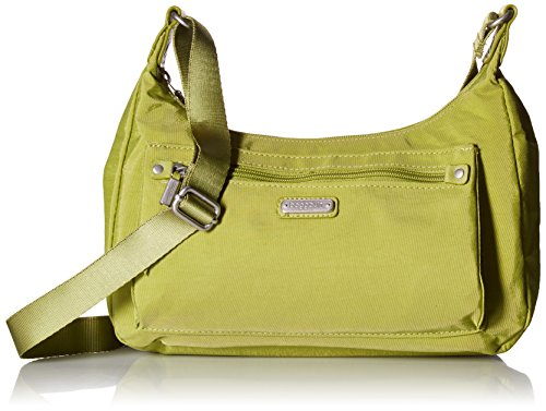 Baggallini Out and About Bagg with RFID Phone Wristlet, Spring Green