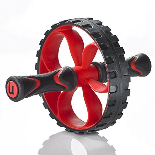 Futuring U Core Ab Roller Wheel | Fitness Abdominal Exercise Equipment | Home Gym Toning and Core Tightening | Heavy-Duty Balance & Non-Slip Handles | Men, Women