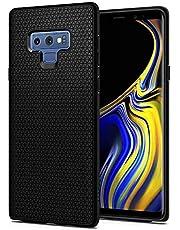 جالكسي نوت 9 , Galaxy Note 9 , كفر من سبيجن ليكويد اير درع مع زخرة هندسية أسود مطفي