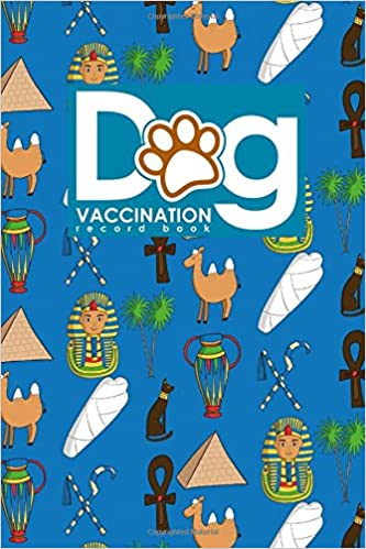 dog vaccination record book canine vaccine record vaccination