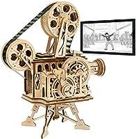 Robotime Meccanico Proiettore cinematografico - Puzzle 3D per Il Taglio di Modelli 3D per Il Legno - Giochi Artigianali...