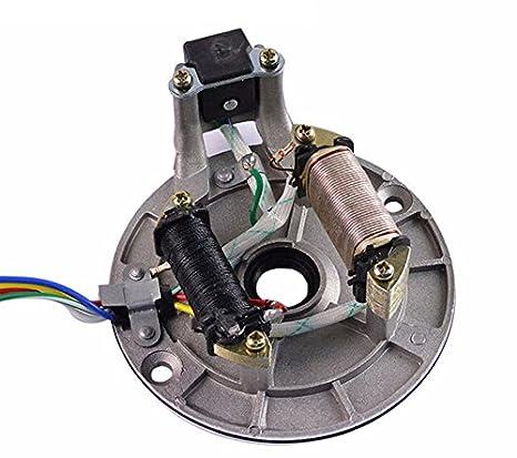 amazon com new magneto plate ignition stator for 90cc 110cc 125cc rh amazon com Automotive Wiring Harness Dodge Wiring Harness