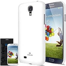 [SG Pearl White] JL316 Samsung Galaxy S4 Case - Premium Slim Fit Hard Case - Rogers, Telus, Bell, International, and Unlocked - Galaxy S 4 SIV S IV GS4 i9500 2013 Model