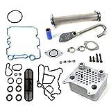 CNS EGR-DK-OCK4 EGR Delete Kit & Engine Oil Cooler Kit for Ford E-Series / F-Series / EXCURSION 6.0L (363cid) OHV V8 POWER STROKE DIESEL TURBO 03-10 by CNS EngineParts