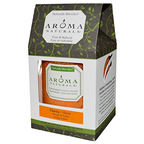 Aroma Naturals Naturally Blended Candles Clarity (Orange) 3
