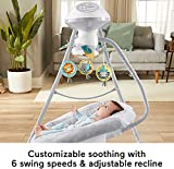 Fisher-Price Hearthstone Swing, Two Motion Baby