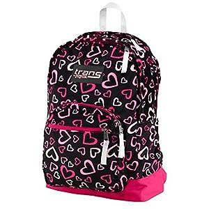 "JanSport Backpack, Trans by Jansport, 15"" Laptop Sleeve, Heart Print"