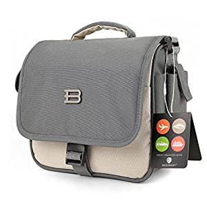 BAGSMART Digital SLR/DSLR Compact Camera Shoulder Bag, Travel SLR Gadget Bag