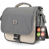 BAGSMART Digital SLR/DSLR Compact Camera Shoulder Bag, Travel SLR Gadget Bag, Beige