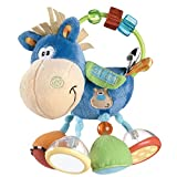 Playgro Toy Box Clip Clop Activity Rattle, Blue, Green, Red