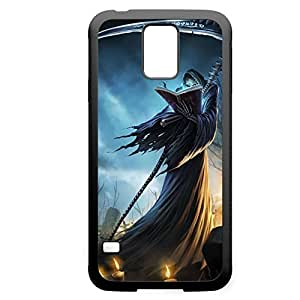 Karthus-002 League of Legends LoLDiy For Iphone 6Plus Case Cover PC Black