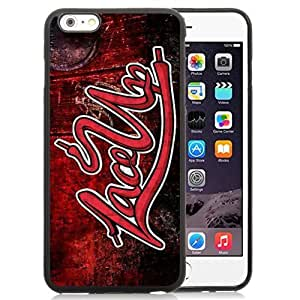DIY and Newest Iphone 6 Plus Case Design with Lace Up Mgk TPU Case for iphone 6 Plus 5.5 Inch in Black