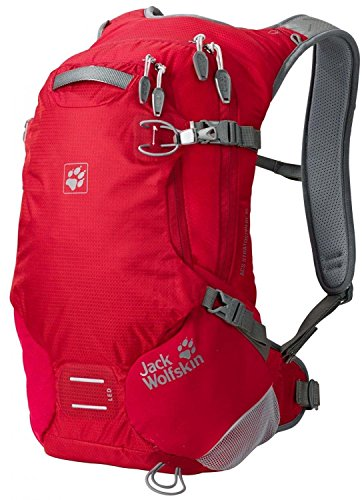 Jack Wolfskin Rucksack Acs Stratosphere 15 Pack Dried Tomato 48 x 28 x 24 cm, 2003891-2056 Red Fire