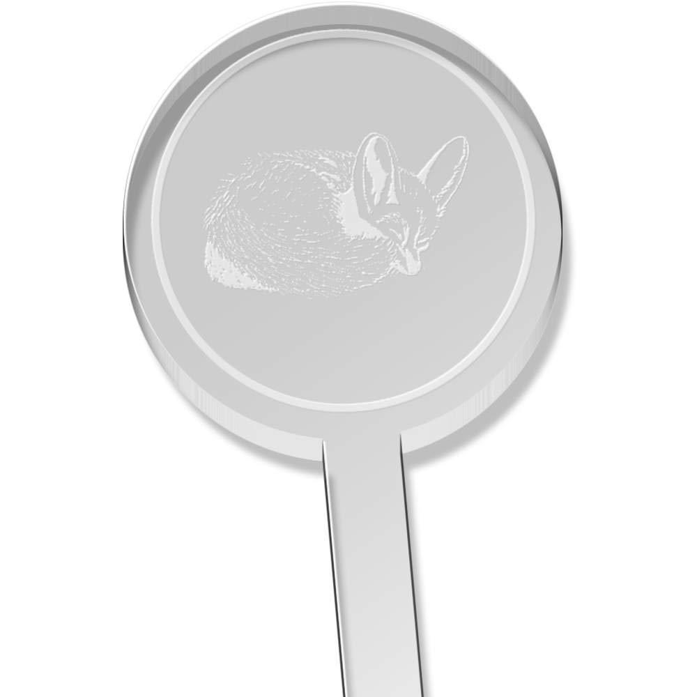 Azeeda 10 x Sleeping Fennec Fox Short Drink Stirrers DS00024582 Swizzle Sticks