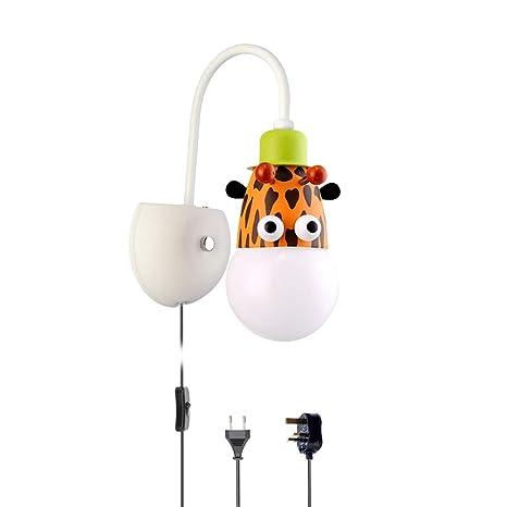 Applique murale Intérieur Enfants avec Interrupteur, Lampes ...