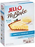 Jell-O No Bake Homestyle Cheesecake Dessert, 11.2 Ounce (Pack of 6)