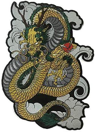 Parche de espalda grande Shenron Dragon: Amazon.es: Juguetes ...
