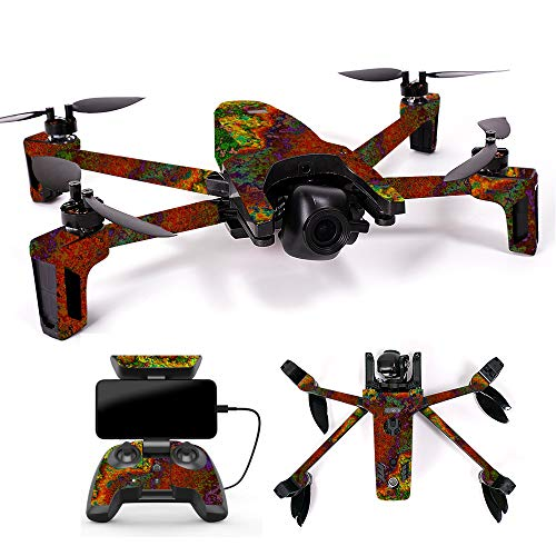 MightySkins Skin for Parrot Anafi Drone - Rust | Protective, Durable, and Unique Vinyl Decal wrap Cover | Easy to Apply, Remove, and Change Styles | Made in The USA