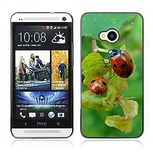 Carcasa Funda Case // Ladybug V0000188// HTC ONE M7