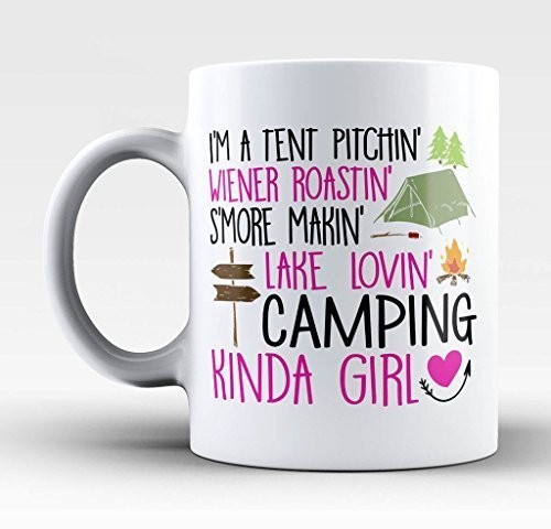 Camping Kinda Girl Coffee Mug
