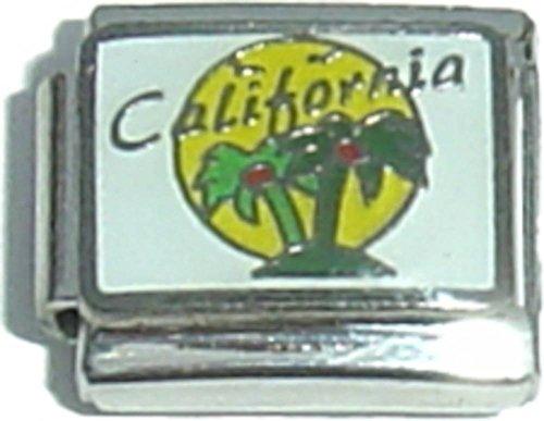 California With Palm Trees Italian Charm ()