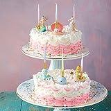 Glitterville Mermaid King Neptune Sea Critters Birthday Candle Holders, 6 Set