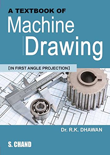 A Textbook of Machine Drawing (Rk Textiles)