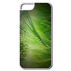 IPhone 5/5S Covers, Wheat Field Cases For IPhone 5S - White Hard Plastic