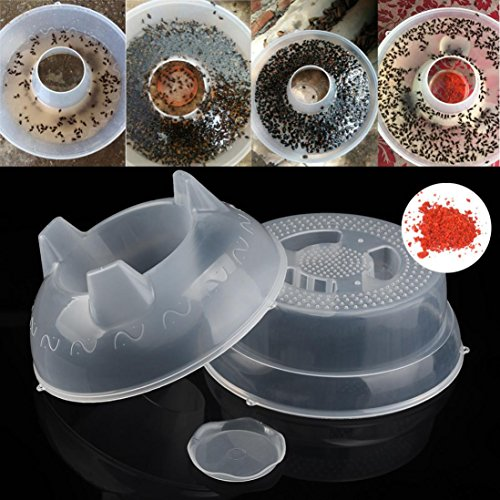 Creazy New Automatic Flycatcher Fly Trap Pest Reject Control Catcher Trap Housefly (Tape Goldfish Ideal)
