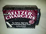 40 Leland (LE10 CO2) CO2 soda chargers - 8g C02 seltzer water cartridges - 4 boxes of 10