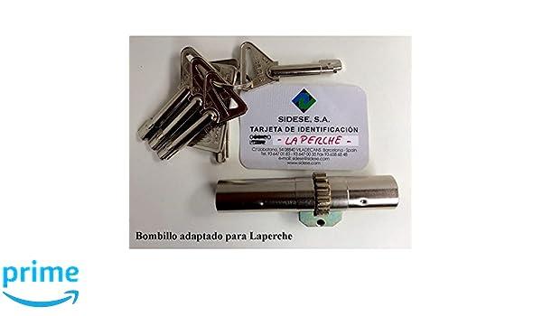 Sidese - Bombillo modelo 10 adaptable a LaPerche: Amazon.es: Bricolaje y herramientas