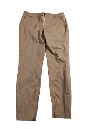 9d745accb2415 Image Unavailable. Image not available for. Color  Lauren Ralph Lauren  Women s Faux Suede-Trim Welt Pocket Pants ...