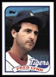 1989 Topps # 416 Fred Lynn Detroit Tigers (Baseball Card) Dean's Cards 8 - NM/MT Tigers