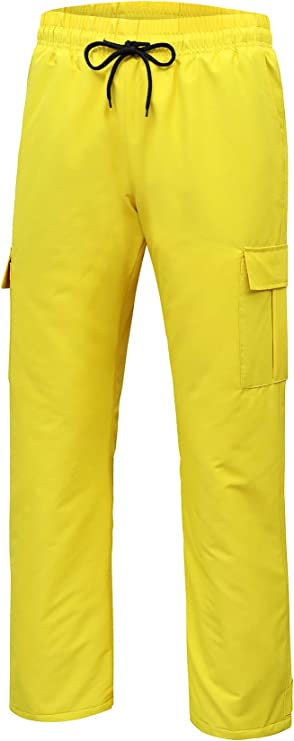 YuKaiChen Mens Snow Pants Ski Ripstop Bottoms Windproof Waterproof Insulated Winter Sports Trousers