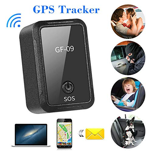 GF-09 Mini GPS Tracker APP Control Anti-Theft Device Locator Voice Recorder