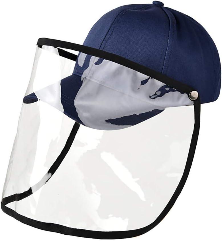 E MINGLIFE Anti-Spitting Protective Hat Dustproof Cover Peaked Cap Hat Adjustable Size Anti Drool Splash-Proof Fisherman Hat Protective Basin Cap, 30x30cm