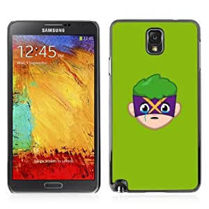 Designer Depo Hard Protection Case for Samsung Galaxy Note 3 N9000 / Face