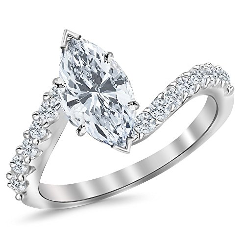 0.45 Ct Marquise Diamond - 5