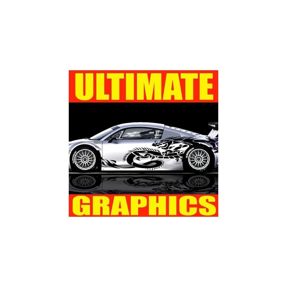 ULTIMATE GRAPHICS BODY VINYL DECAL STICKER CAR AUTO TRUCK BOAT U01