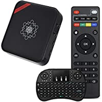 2017 Newest Andriod TV Box, Heckia CQ1 Android 6.0 Amlogic S905X 1G/8G H.265 WiFi 2.4GHz Quad Core Full HD 4K Player CQ 1 Smart Set Top Box